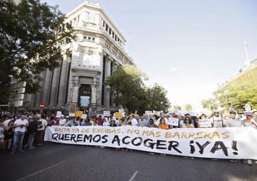 Demonstracja w Madrycie: Chcemy, żeby rząd przyjął uchodźców