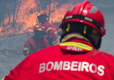 """Trzydniowa żałoba w Portugalii. Świadkowie mówią o """"tornado płomieni"""""""