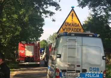 Betoniarka wjechała w busa w Bałdowie w Pomorskiem. Kilka osób zostało rannych