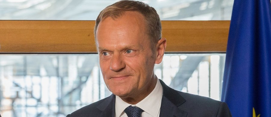 Były premier Donald Tusk, dzień po przesłuchaniu swojego syna Michała przed komisją śledczą ds. Amber Gold, powiedział, że jest z niego bardzo dumny.
