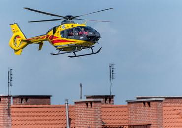 Myszków: 14-miesięczne dziecko wypadło z drugiego piętra