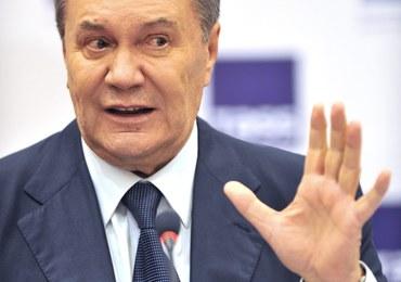 W Kijowie sądzą Wiktora Janukowycza za zdradę stanu. Po 2 godzinach proces przerwano