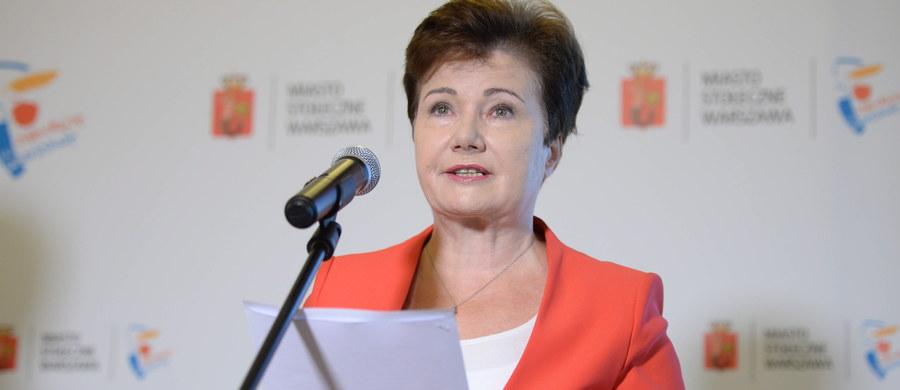 Złożyliśmy wniosek do Naczelnego Sądu Administracyjnego w Warszawie o rozstrzygnięcie sporu kompetencyjnego; nie ma możliwości, byśmy byli stroną w komisji weryfikacyjnej ds. reprywatyzacji - zapowiedziała prezydent Warszawy Hanna Gronkiewicz-Waltz.