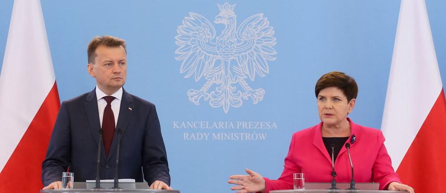 W związku z cyberataki nie zdecydowaliśmy na podwyższenie stopnia alarmowego - powiedziała premier Beata Szydło po posiedzeniu Rządowego Zespołu Zarządzania Kryzysowego, które zwołano w związku z atakami cybernetycznymi w Europie.