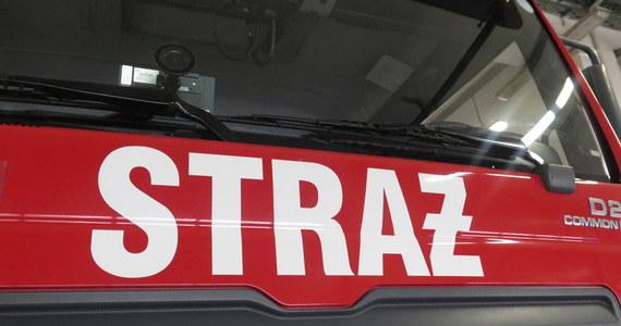 Duży pożar w miejscowości Niedźwiedź w województwie kujawsko-pomorskim. Informację o zdarzeniu dostaliśmy na Gorącą Linię RMF FM.