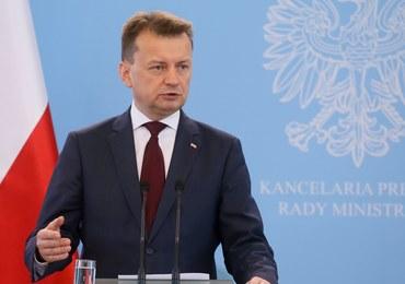 Błaszczak odpowiada na słowa Wałęsy: Nikt nie jest ponad prawem