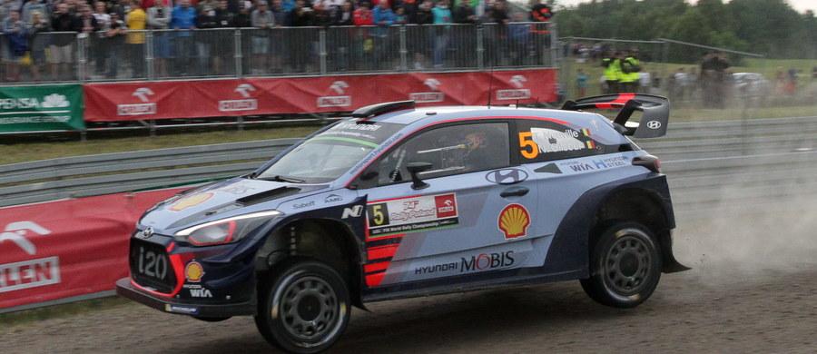 Belg Thierry Neuville (Hyundai I20 WRC) wygrał Rajd Polski, ósmą rundę samochodowych mistrzostw świata. To jego trzecie zwycięstwo w sezonie i piąte w karierze w imprezie tego cyklu, którego tegorocznym liderem pozostał trzeci w Mikołajkach Francuz Sebastien Ogier. Końcówka sezonu na pewno będzie bardzo emocjonująca - zapowiedział Neuville na mecie.