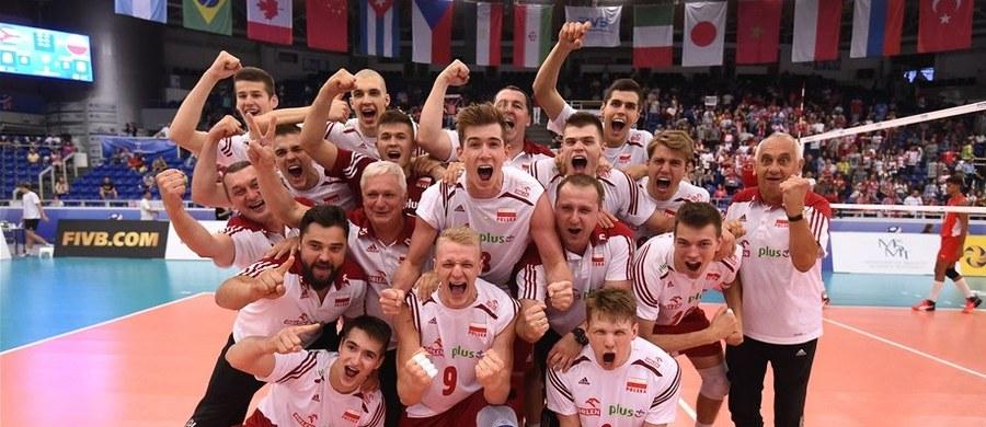 Polscy siatkarze do lat 21 zdobyli złoty medal mistrzostw świata. W finale w Brnie pewnie pokonali reprezentację Kuby 3:0 (25:20, 25:10, 25:19). To trzeci triumf biało-czerwonych w tych rozgrywkach - poprzednio zwyciężyli w 1997 i 2003 roku.