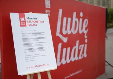 """Akcja """"Lubię Ludzi"""" w Katowicach. """"Polacy chcą takiego społeczeństwa"""""""
