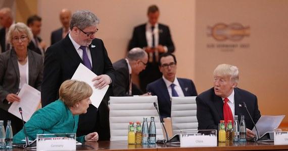 Przywódcy krajów G20 nie zdołali na szczycie w Hamburgu wypracować kompromisu w sprawie ochrony klimatu. Komunikat końcowy spotkania uwzględni różnice stanowisk w tej kwestii między prezydentem USA Donaldem Trumpem a pozostałymi uczestnikami spotkania.