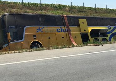 Wypadek polskiego autokaru w Serbii. Wśród poszkodowanych są dzieci