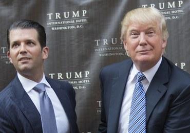 Trump: Mój syn świetnie się spisał, jest niewinny