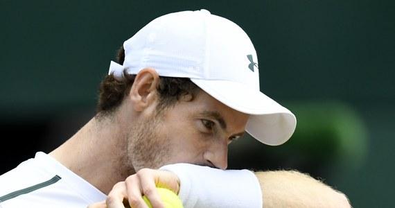 Najwyżej rozstawiony, broniący tytułu Andy Murray odpadł z Wimbledonu! Brytyjczyk przegrał z Amerykaninem Samem Querreyem (nr 24.) 6:3, 4:6, 7:6 (7-4), 1:6, 1:6 w ćwierćfinale wielkoszlemowego turnieju tenisowego na trawiastych kortach.
