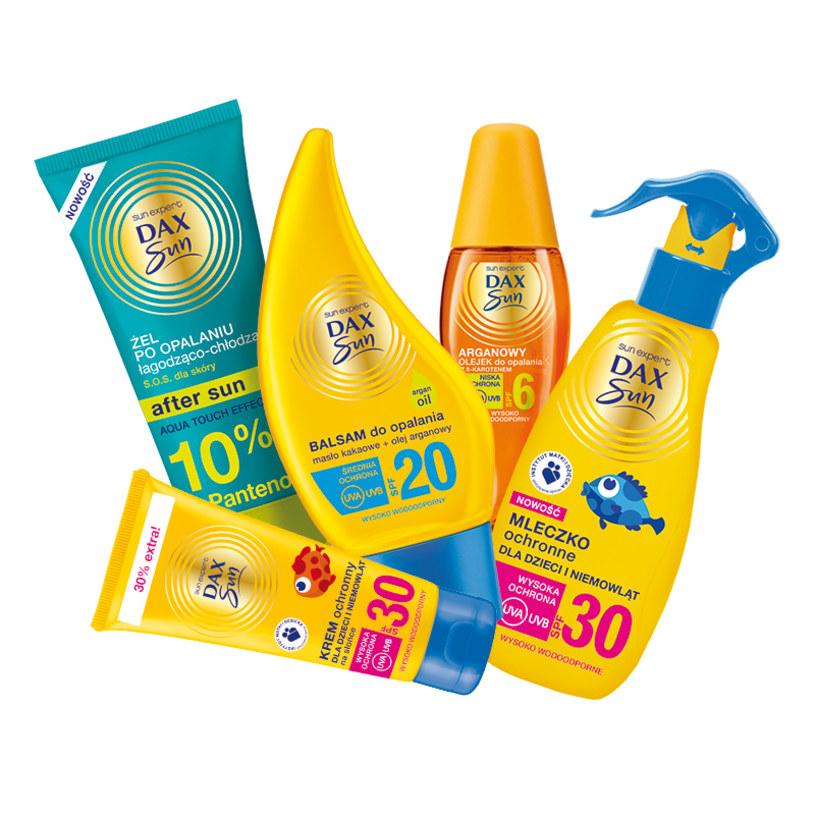 Weź udział w naszym słonecznym konkursie i wygraj 1 z 20 zestawów kosmetyków do opalania od marki Dax Sun.