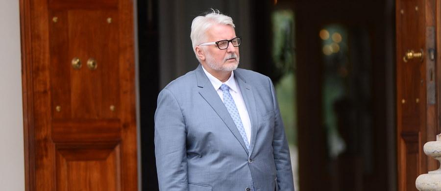To była szczera, męska odpowiedź na chamstwo, które żeśmy wczoraj widzieli w wykonaniu opozycji - powiedział szef MSZ Witold Waszczykowski, odnosząc się do nocnej wypowiedzi prezesa PiS Jarosława Kaczyńskiego.