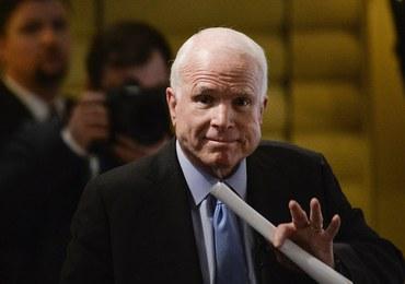 Były kandydat na prezydenta John McCain ma raka mózgu
