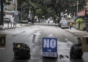 Wielki protest w Wenezueli. Ruch w miastach niemal zamarł