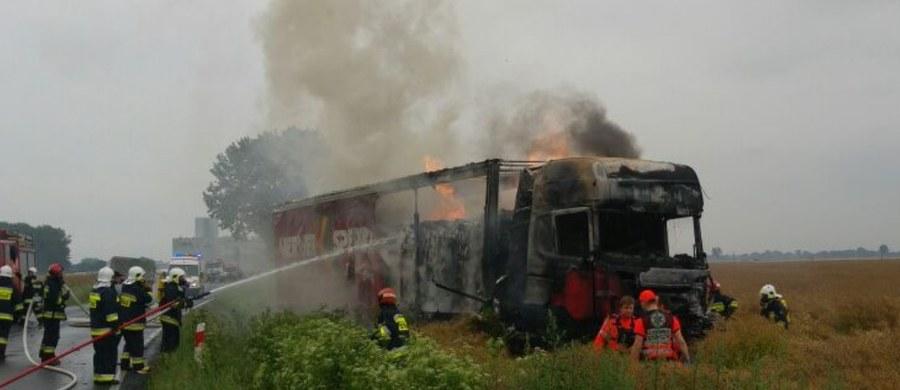Akcja ratownicza na drodze krajowej nr 45 na Opolszczyźnie. Zderzyły się tam trzy samochody. Informację dostaliśmy na Gorącą Linię RMF FM.