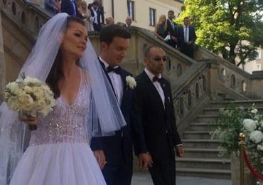 Ślub Agnieszki Radwańskiej z Dawidem Celtem w Krakowie