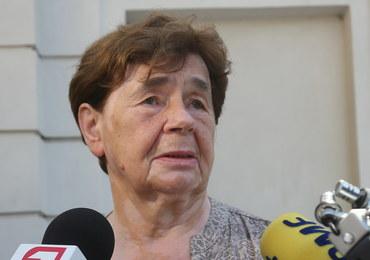 Zofia Romaszewska: Minister sprawiedliwości i prokurator generalny nie może rządzić SN