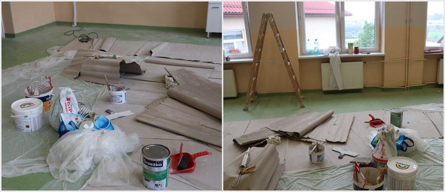 """""""Praca wre! Właśnie malujemy salę"""" - mówią RMF FM rodzice uczniów ze szkoły w małopolskich Raciechowicach, którą w ramach naszej charytatywnej akcji Lepsze Jutro z RMF FM wyposażymy w nowoczesną pracownię biologiczno-chemiczną! To jedna z pięciu placówek w różnych regionach Polski, które dzięki naszemu corocznemu projektowi zyskają profesjonalne pracownie, wyposażone w nowoczesny sprzęt. W tym roku Lepsze Jutro z RMF FM zawita również do szkół w Bukowinie, Morągu, Boguszowie-Gorcach i Kluczborku!"""