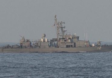 Amerykański okręt wojenny oddał strzały ostrzegawcze w kierunku irańskiej łodzi