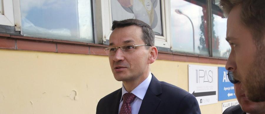 Deficyt budżetowy w 2017 roku może się zamknąć nawet poniżej 49 mld zł wobec planu 59,3 mld zł - powiedział PAP wicepremier Mateusz Morawiecki. Dodał, że ma nadzieję, iż inwestycje wyszły na plus już w II kw. i osiągnęły ok. 4-proc. dynamikę, a w III kw. przyspieszy ona do 5 proc.