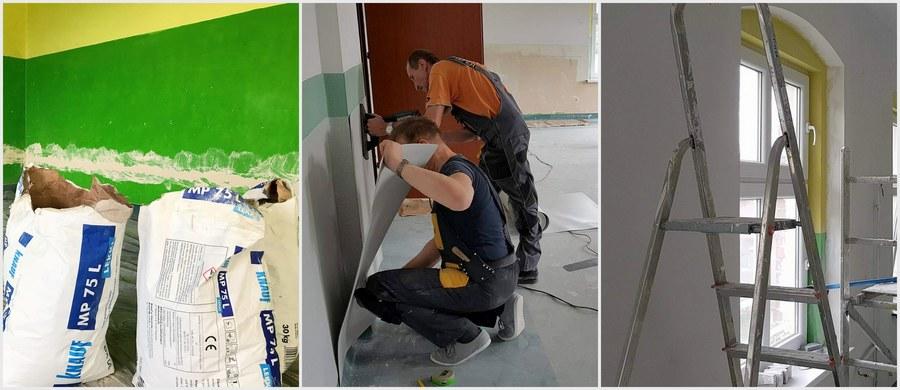 Będzie nowy sprzęt, musi być zatem nowa instalacja elektryczna. W szkole podstawowej numer pięć w Boguszowie-Gorcach na Dolnym Śląsku trwa remont sali, którą w ramach akcji Lepsze Jutro z RMF FM zamienimy w nowoczesną pracownię polonistyczną. Profesjonalnie wyposażone sale otrzymają od nas także placówki w Morągu, Bukowinie, Kluczborku, Raciechowicach.