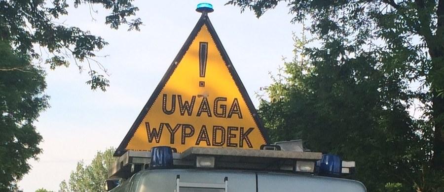 Na autostradzie A4 w stronę Katowic, tuż za bramkami poboru opłat w Balicach, zderzyło się sześć pojazdów. W wypadku ucierpiały cztery osoby.