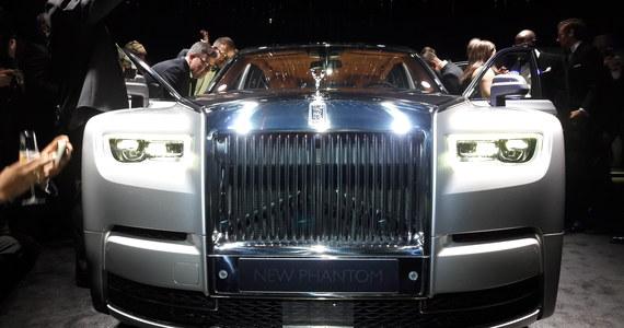 W londyńskim domu aukcyjnym Bonhams odsłonięto nowy model Rolls Royce'a z legendarnej serii Phantom. Uroczystość zgromadziła entuzjastów motoryzacji z całego świata.