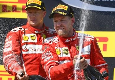 Formuła 1: Podwójny sukces Ferrari. Vettel i Raikkonen zajęli dwa czołowe miejsca