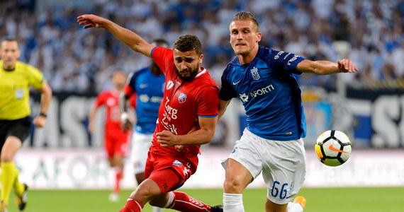 Piłkarze Lecha Poznań zremisowali z FC Utrecht 2:2 (1:1) w rewanżowym spotkaniu trzeciej rundy kwalifikacyjnej Ligi Europejskiej i odpadli z rozgrywek. Pierwszy mecz w Holandii zakończył się bezbramkowym remisem.