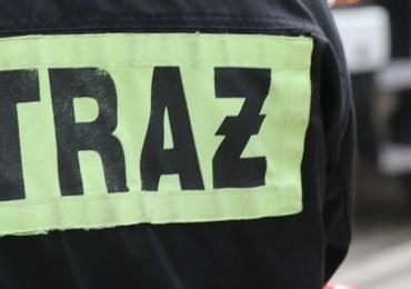 Tragedia w Łaziskach Górnych. 3 osoby zginęły w pożarze