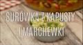 Klasyczna surówka z kapusty i marchewki