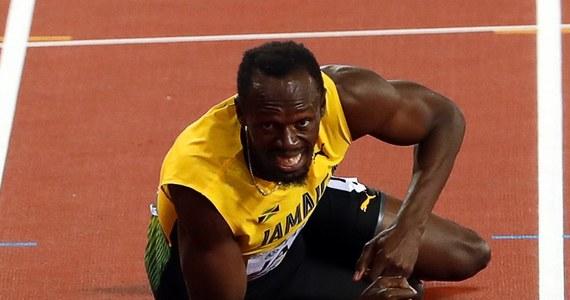 Usain Bolt podczas ostatniego biegu w Londynie złapał kontuzję i nie dobiegł do mety. Słynny biegacz, który zapowiedział zakończenie kariery, wchodził w skład reprezentacji Jamajki w sztafecie 4x100 metrów. Pierwsze miejsce zajęli Brytyjczycy, drugie Amerykanie, a trzecie - Japończycy.