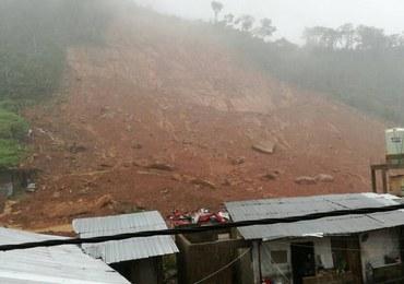 Sierra Leone: 312 zabitych w osuwiskach i lawinach błota