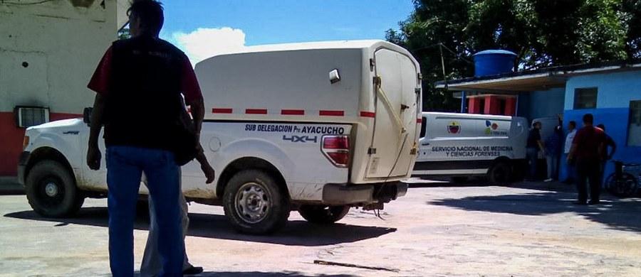 Bunt w więzieniu w Puerto Aycucho w Wenezueli. Podczas tłumienia zamieszek zginęło 37 więźniów. Wiele osób jest rannych – w tym 14 strażników.