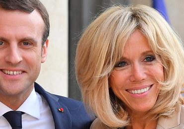 Pierwsza Dama Francji o mężu: On jest świeży, ja mam zmarszczki!