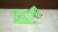 Piesek origami
