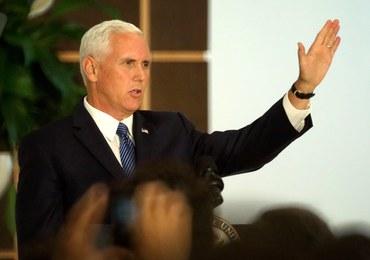 Pence: USA nie będą bezczynnie przyglądać się upadkowi Wenezueli