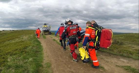 Akcja ratowników bieszczadzkiej grupy GOPR w kamieniołomie w miejscowości Bóbrka koło Soliny. Informację w tej sprawie dostaliśmy od słuchacza na Gorącą Linię RMF FM.