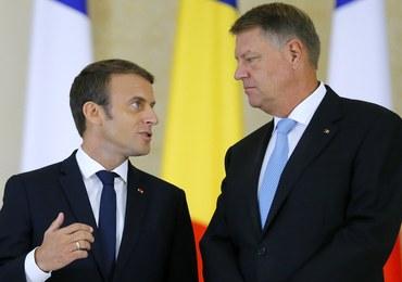 Macron przekona prezydenta Rumunii do swojego pomysłu?