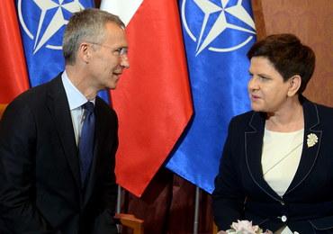 Stoltenberg: Polska odgrywa kluczową rolę; Szydło: Chcemy zwiększyć wydatki na obronność