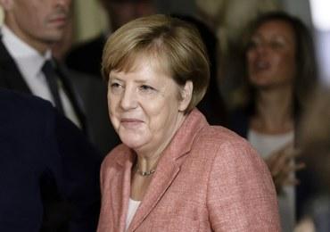 """Przeciwnicy Merkel zakłócili jej wiec. """"Idź do swoich muzułmanów"""""""