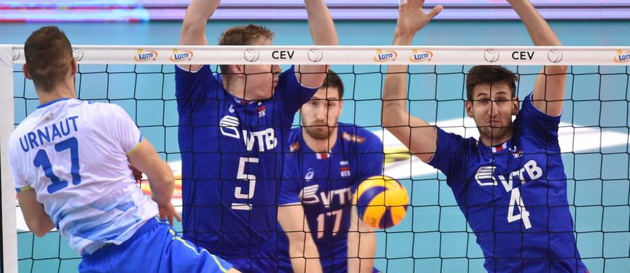 W pierwszym sobotnim meczu grupy C mistrzostw Europy siatkarzy Rosja pokonała w Krakowie Słowenię  3:0 (27:25, 30:28, 25:22). W drugim spotkaniu tej grupy Bułgaria zmierzy się z Hiszpanią. Początek godz. 20.30.