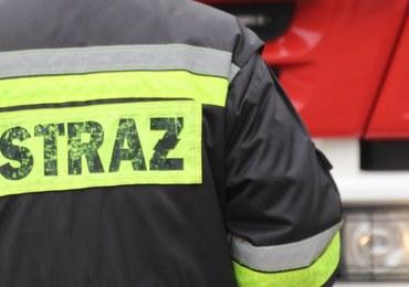 Wybuch kominka w Polkowicach. Rannych jest 5 osób, w tym noworodek
