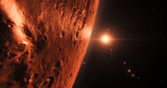 Poszukiwania ewentualnych oznak życia w odległym od nas o 40 lat świetlnych układzie planetarnym TRAPPIST-1 stały się właśnie znacznie bardziej interesujące. Miedzynarodowy zespół astronomów ogłosił, że z pomocą teleskopu kosmicznego Hubble'a udało się zebrać ślady, wskazujące na to, że na zewnętrznych planetach tego układu mogą być znaczące ilości wody. Trzy z tych planet krążą w tak zwanej strefie zamieszkiwalnej, co oznacza, że ewentualna woda mogłaby utrzymać się na ich powierzchni w stanie ciekłym. To podstawowy warunek, by życie jakie znamy mogło tam powstać.