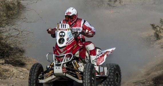 Rafał Sonik zajął trzecie miejsce w rywalizacji kierowców quadów w czwartej rundzie Pucharu Świata w rajdach terenowych FIM - argentyńskim Desafio Ruta 40. Zwyciężył Holender Kees Koolen i został liderem cyklu.
