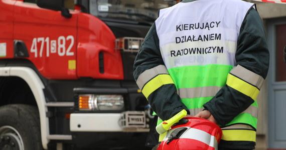 Wybuch gazu w 4-piętrowym bloku przy ulicy Lutomierskiej w Łodzi. Jedna osoba została przewieziona do szpitala - mówi rzecznik straży pożarnej w Łodzi Łukasz Górczyński.