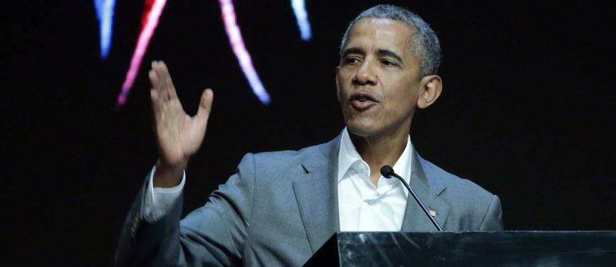 """Były prezydent USA Barack Obama nazwał decyzję administracji Donalda Trumpa w sprawie wycofania programu dla tzw. dreamersów, pozwalającego dzieciom nielegalnych imigrantów zostać w USA, """"okrutną, samobójczą i złą"""". """"To decyzja polityczna i kwestia moralna"""" - napisał."""